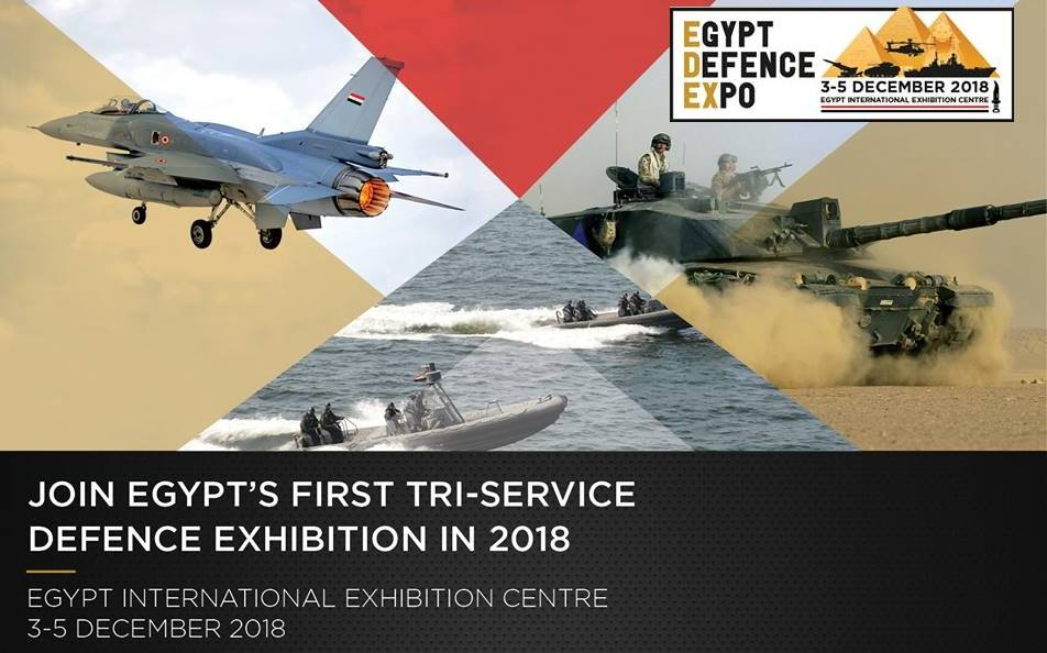 Join Egypt's First TRI-Service Defence Exhibition in 2018