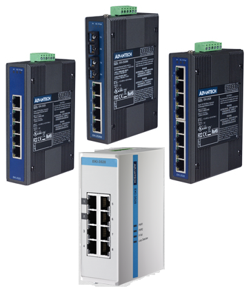 Unmanaged Industrial Ethernet Switches
