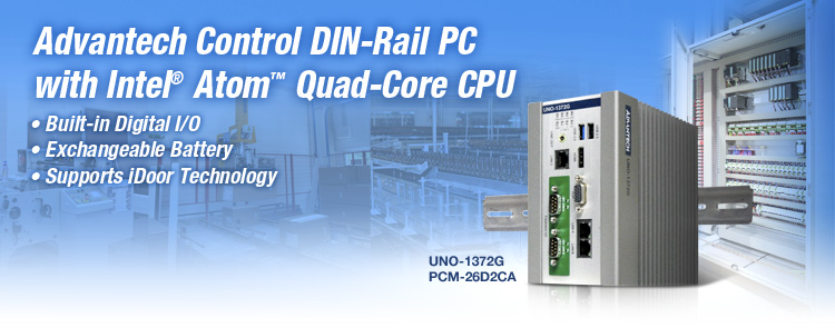 New Product Phase-in Notice Control DIN-Rail PC- UNO-1372G
